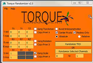 Torque Randomizer Tool Demo